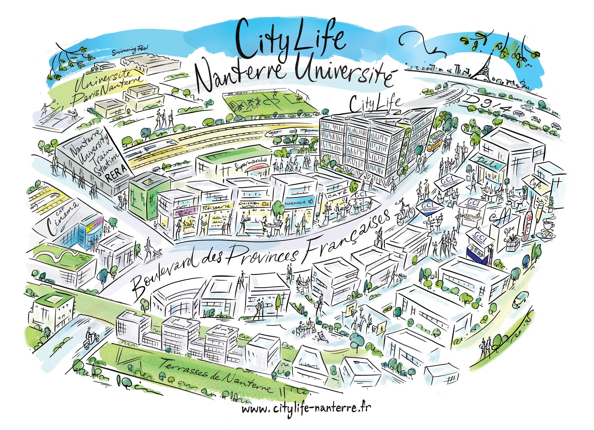 citylife accueil citylife map revision a3 v2 - Accueil