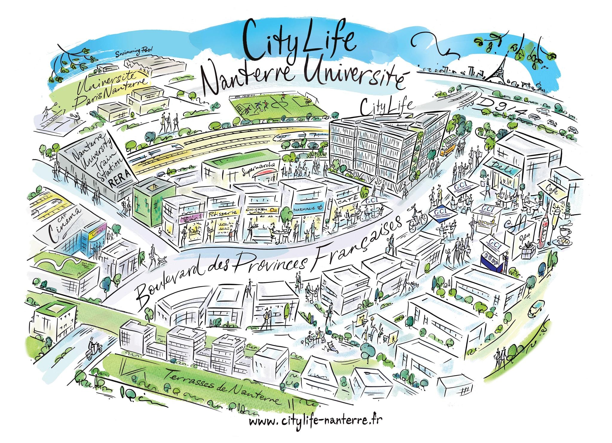 citylife accueil citylife map revision a3 v2 - Quartier